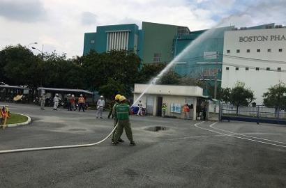 Nghiệm thu hệ thống chữa cháy