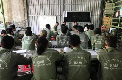 Lớp nâng cao kỹ năng cho thủ kho