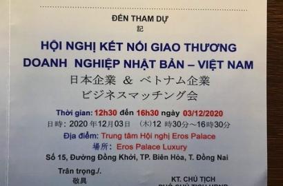 Hội nghị kết nối giao thương doanh nghiệp Nhật Bản-Việt Nam