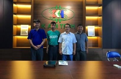 Khách hàng ECOT ghé thăm văn phòng KAM Tech